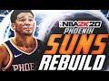 HUGE TRADES FOR STARS!! REBUILDING THE PHOENIX SUNS! NBA 2K20
