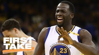Draymond Green Unaffected By Warriors 12-0 Run | First Take | May 24, 2017