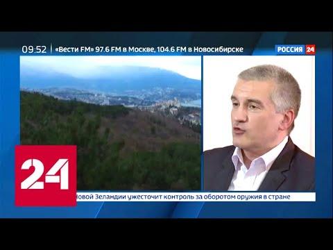 Сергей Аксенов: Крым стал развиваться только после воссоединения с Россией - Россия 24