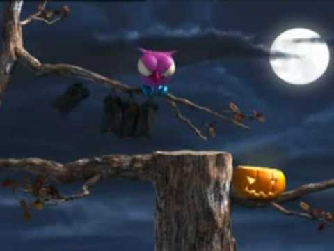 CARTOON ANIMATION THE OWL AND BAT