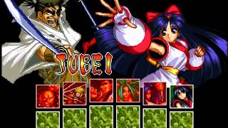 Samurai Shodown II Jubei (Playthrough, Gameplay, Walkthrough, Historia, Ending)