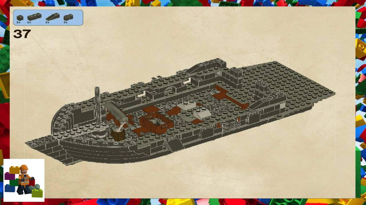 Lego Instructions Pirates Of The Caribbean 4184