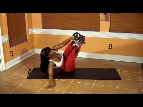 V-Ups (ab exercise for obliques) This was a tough exercise for me! from YouTube · Duration:  49 seconds