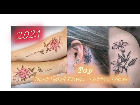 Hình Xăm Hoa Nhỏ Cực Kì Đẹp Cho Nữ 2021 - Top Best Small Flower Tattoo Ideas 2021 - Black Box INK VN
