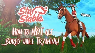 How to NOT get bored while training! | Star Stable Updates