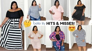 BELLELILLY PLUS SIZE HAUL! GIRL LET'S TALK HITS & MISSES!