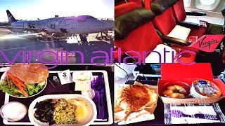 Virgin Atlantic ECONOMY CLASS Las Vegas to London|B747-400