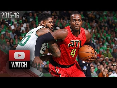 Paul Millsap Full Highlights at Celtics 2016 Playoffs R1G4 - 45 Pts, 13 Reb, 4 Blks