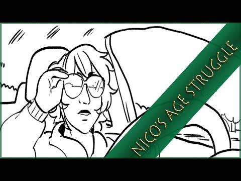 """Nico's Age Struggle"" – Percy Jackson Comic Dub Drama"