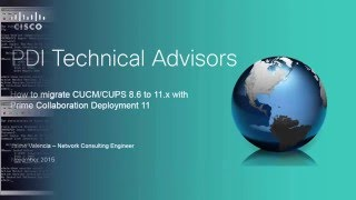 CUCM/CUPS 8.6 PCD Migration to CUCM/IM&P 11.0.x