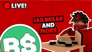 🔴(Roblox)🔴| Jailbreak & MORE Games| Simon Says + Robuxs GIVEAWAYS!| 🔴COME JOIN!