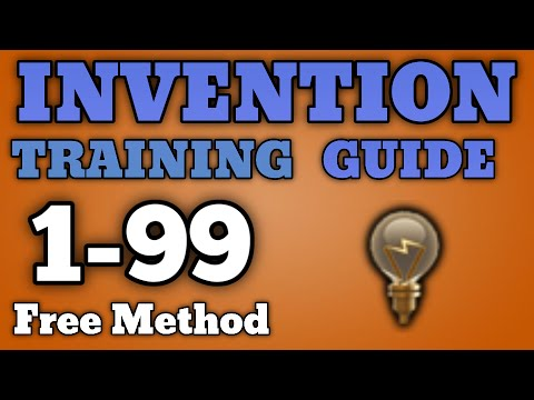 1-99 Invention Guide - Free/Inexpensive Training Methods [Runescape 2016]