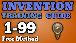 1 99 invention guide free inexpensive training methods runescape 2016