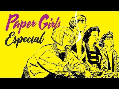 PAPER GIRLS y la formula de Vaughan + CONCURSO