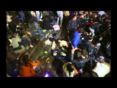 Still photos show Shanghai stampede