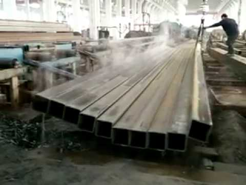 tianjin topsino square carbon steel tube