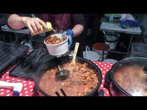 Korean BBQ Tried in London Brick Lane. Street Food