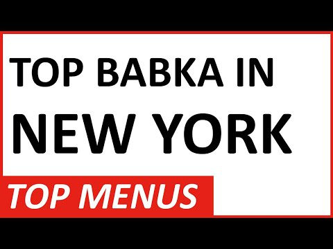 TOP Babka in New York City: Brooklyn has a Jewish Bakery That Makes Delicious Babka and Rugalach