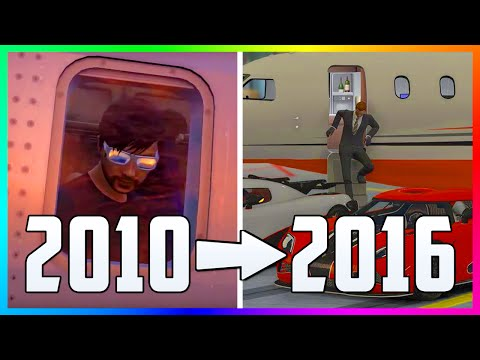 GTA ONLINE IN 2010 VS 2016 - HOW IT WAS ORIGINALLY PLANNED TO BE LIKE VS HOW IT IS TODAY!!! (GTA 5)