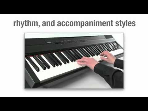 yamaha p 105 digital piano overview youtube. Black Bedroom Furniture Sets. Home Design Ideas
