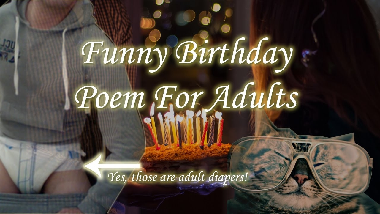 adult poems funny birthday