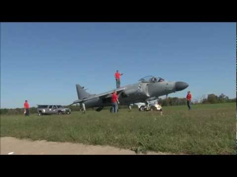 2011 Culpeper Air Fest - Art Nalls & Sea Harrier