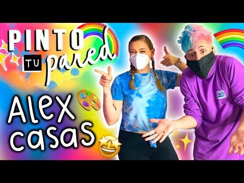 PINTÉ LA PARED DE ALEX CASAS!!! 😱🎨