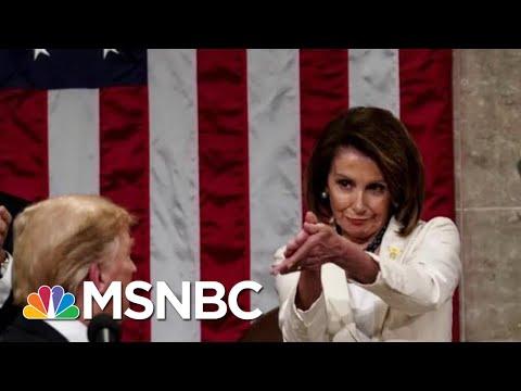 Nancy Pelosi 'Clap Back' At President Donald Trump Goes Viral | The Beat With Ari Melber | MSNBC