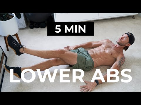 5 MIN LOWER ABS | LOWER ABS WORKOUT
