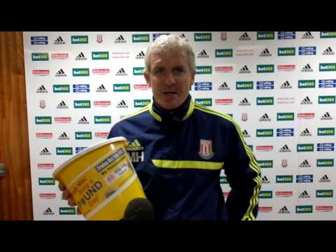 Stoke City Manager Mark Hughes Backs Dougie Mac Bring a Pound Day