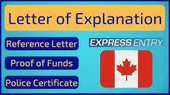 Letter of Explanation | Express Entry Canada