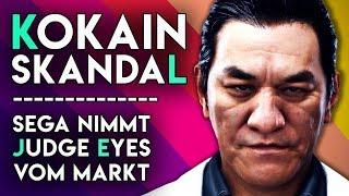 Kokain-Skandal: Sega nimmt Judge Eyes vom Markt