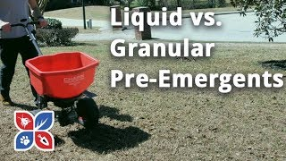Do My Own Lawn Care - Liquid v. Granular Pre-Emergents