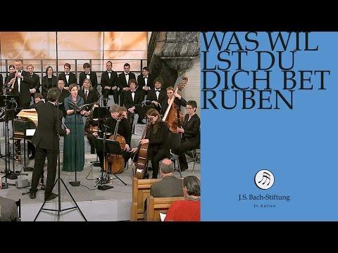 J.S. Bach - Cantata BWV 107 Was willst du dich betrüben   5 Aria (J. S. Bach Foundation)