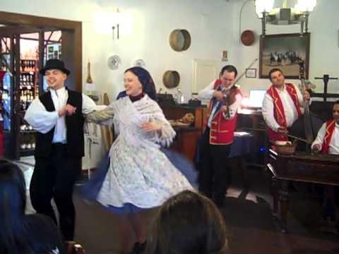 Traditional Hungarian Gypsy Music & Dancing