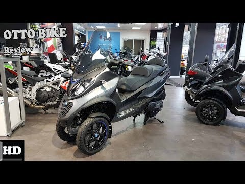 NICE ONE !!2018 Piaggio MP3 500 HPE Business Engine and Price Overview