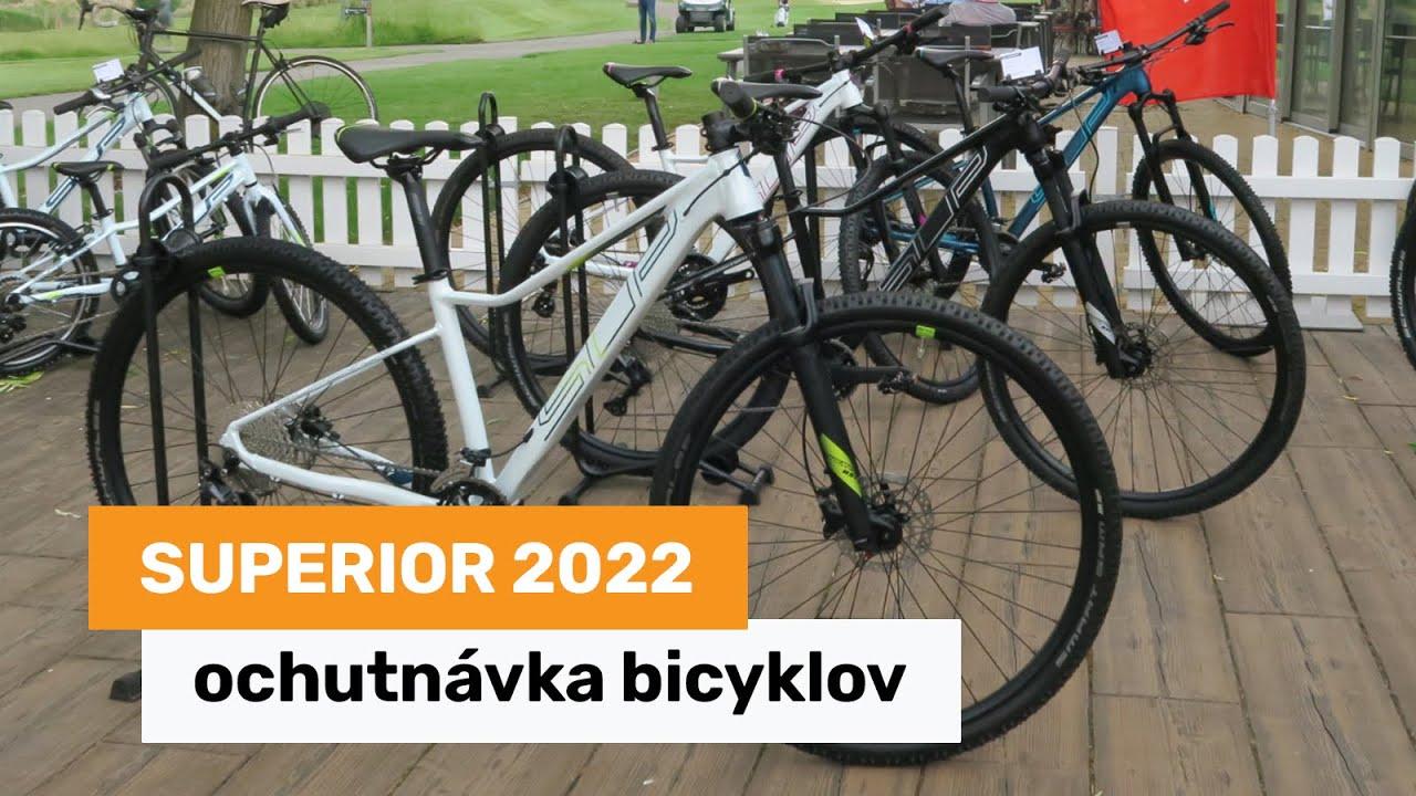 Download Superior 2022 - ochutnávka bicyklov na budúci rok