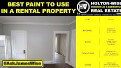 What is the best kind of paint to use in a Rental Property? - Ask james wise 23