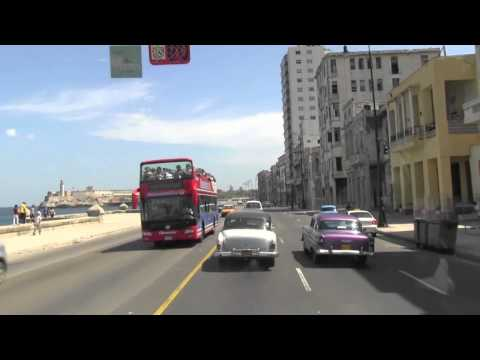 Cuban Streets; a drive through beautiful Havana w/ MIIS student Spring Break '13