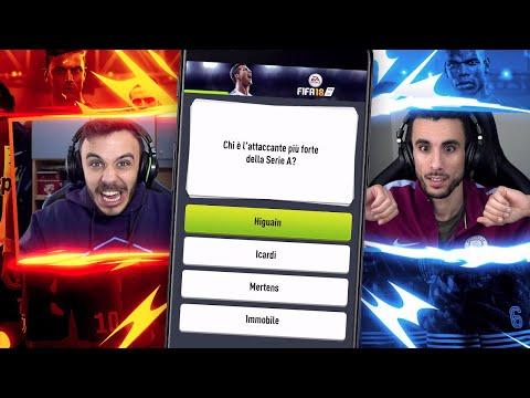 QUANTA NE SAI su FIFA 18 vs FIUS GAMER! FIFA QUIZ CHALLENGE!