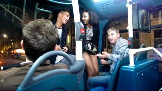 Repeat youtube video Crazy Girl on bus 29