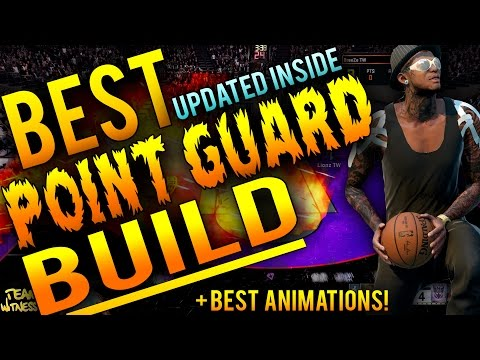 NBA 2K16 Tips: Best POINT GUARD Build + Animations - How To Create A 99 Ovr LeBron Type PG In 2K16!