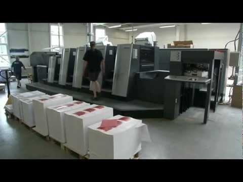 Neueste Technologie bei Druckerei Schwörer: Heidelberg XL75