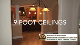 3 bed 2 bath home and over 5 acres of land for sale in Evangeline Parish Louisiana