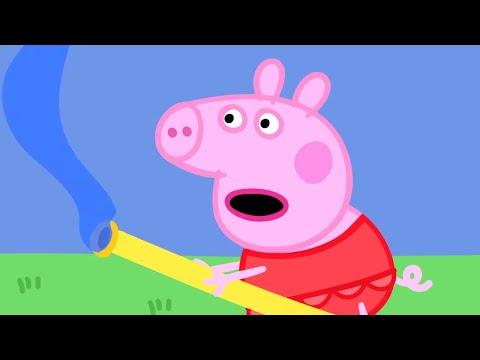 Peppa Pig English Episodes - Outdoor adventures with Peppa Pig! Peppa Pig Official - Как поздравить с Днем Рождения