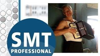 Как играть на баяне Человек и кошка   How to play on accordion   SMT Pro