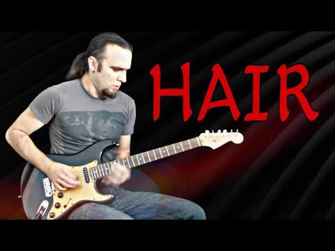 Lady Gaga 'Hair' (Rock Guitar Cover)