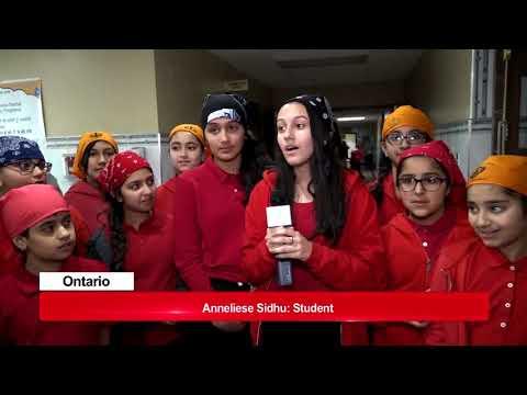 Guru Tegh Bahadur International School ranks First in Ontario  Zee Tv Canada Report
