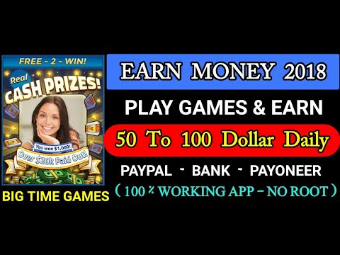 Big Time Cash No Root Play Games Earn Money Online