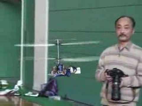 Coaxial rotors Scratch build heli